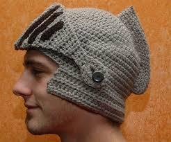 crochet pattern knight helmet free knight helmet knitting pattern