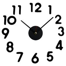 compare prices on decal wall clock online shopping buy low