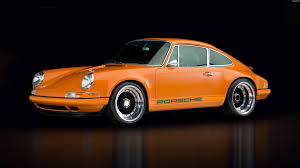 Porsche 911 Orange - porsche 911 car stinger porsche orange cars wallpaper no