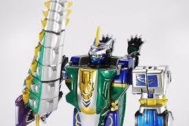 power rangers wild force megazord dx gao hunter megaforce