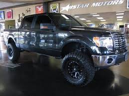 lifted black ford f150 purchase used 2010 ford f150 crew cab 4x4 leather lifted black in