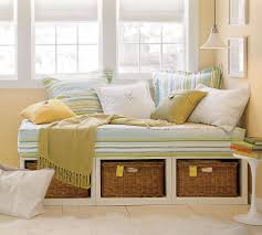 Small Bedroom Ideas With Daybed Wonderful Daybed Bench With Storage Pics Design Ideas Surripui Net