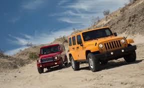 jeep rubicon offroad rubicon4wheeler jeep wrangler versus mercedes benz geländewagen