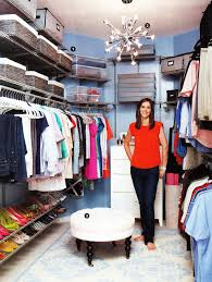 walk in closet makeover as shown in real simple magazine closet
