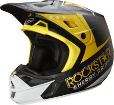 orange motocross helmet fox v2 rockstar motocross helmets