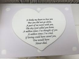 shabby personalised chic in memory of a loved one any name memory