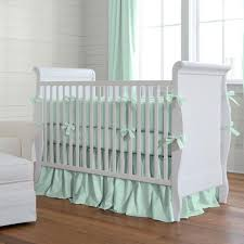 Green And White Crib Bedding Furniture Mint Green Baby Bedding Mint Green Baby Bedding Canada