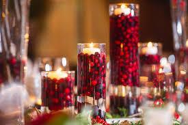 wedding table arrangements festive winter wedding table decor mon cheri bridals