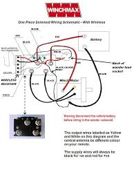 winch solenoid 12v heavy duty upgrade ring terminal winchmax