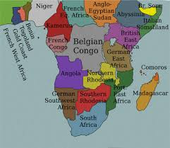 africa map all countries africa 1914 map
