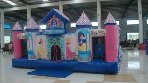party rentals michigan princess palace bounce slide combo kids party