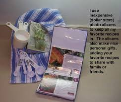 inexpensive photo albums use photo albums to organize recipes thriftyfun