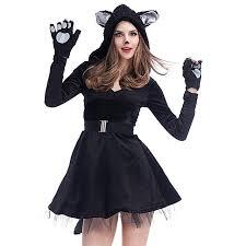 cat costume women black cat costume cat tutu dress with cat