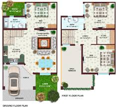 5 marla house floor plans home deco plans