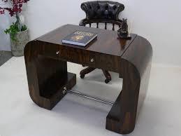 Schreibtisch B Otisch Schreibtisch Bürotisch Im Art Deco Stil Palisander Furniert 2311