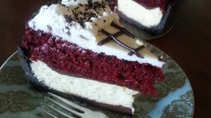 the on call cook red velvet cake cheesecake