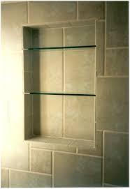 Glass Corner Shelves For Bathroom by Shelf Design Winsome Corner Glass Shower Shelf Modern Furniture