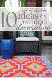 Outdoor Decorating Ideas by Out Of The Box Ideas For Outdoor Decorating Emily A Clark