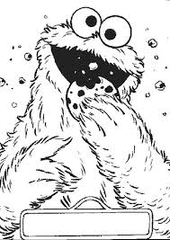 pictures cookie monster coloring 20 coloring pages