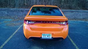 dodge dart orange 2013 dodge dart gt review car reviews