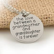 grandmother granddaughter necklace the between a grandmother and granddaughter are