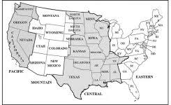 map of time zones in the usa printable printable us time zones map with cities printable map of us cities