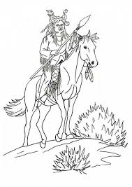 native american coloring pages for boys coloringstar