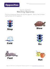12 printable opposites worksheets free and easy to download at