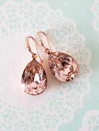 best 25 rose gold earrings ideas on pinterest rose gold wedding