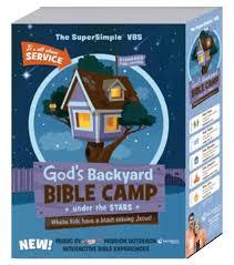 God S Big Backyard Under The Stars Bible Camp Standard Vbs