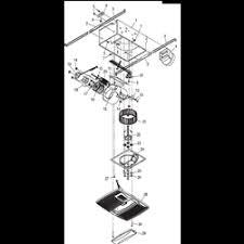 broan qtx110hl bathroom fan with light heater parts