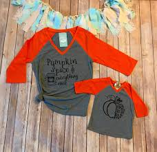 mommy to be halloween shirt mommy and me pumpkin spice shirts mom and daughter