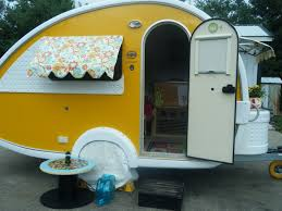 Vintage Trailer Awning Condo Blues 6 Quirky And Colorful Retro Rv Remodels