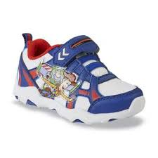 disney toddler boy u0027s toy story navy red sneaker