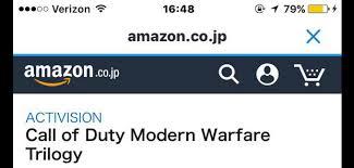 call of duty infinite warfare black friday amazon call of duty modern warfare trilogy amazon listing 505369 jpg