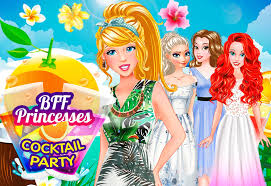 cocktail party cartoon bff princesses cocktail party dollygals com