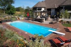new great lakes in ground fiberglass pool by san juan swimming pools above ground swimming pools inground swimming pools