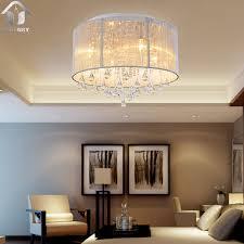 shade crystal chandelier unitary brand modern silver threads shade crystal drops flush