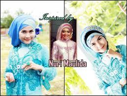 tutorial makeup natural hijab pesta tutorial hijab inspired by nuri maulida hijab paris cantik untuk