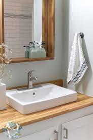 best butcher block bathroom sink room design decor luxury with