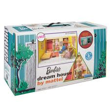 Vintage Barbie Dream House Youtube by Vintage 1962 Reproduction Barbie Dream House U0026 Portable Carrying