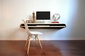 Computer Wall Desk Minimal Float Wall Desk From Orange 22