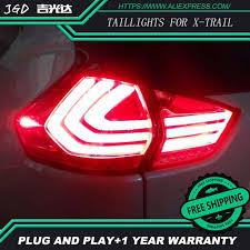 trail of lights parking car led tail light parking brake rear bumper reflector l for