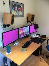 every new house needs a new battlestation battlestations