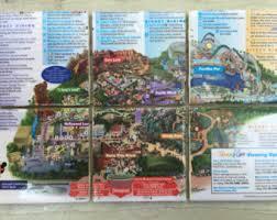 map of california adventure california adventure etsy