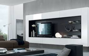 Floating Media Center Designs For ClutterFree Living Room - Design a wall unit