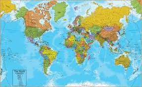 printable world map a1 world maps posters for sale at allposters com