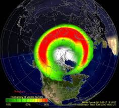 where are the northern lights visible st patrick s day solar storm sets off green northern lights nbc news