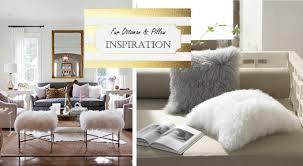 Ottoman Pillow Hopes Dreams Fur Ottoman Pillow Diy How To