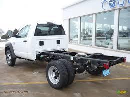 Dodge Ram 4500 - 2010 dodge ram 4500 slt regular cab chassis in bright white photo